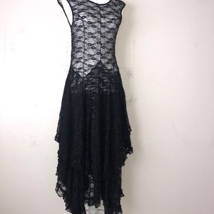 Free people intimates sheer lace dress